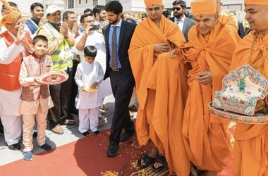SoundKraft LLC was appointed as Technical Production Supplier for BAPS Hindu Temple Opening Ceremony in the UAE